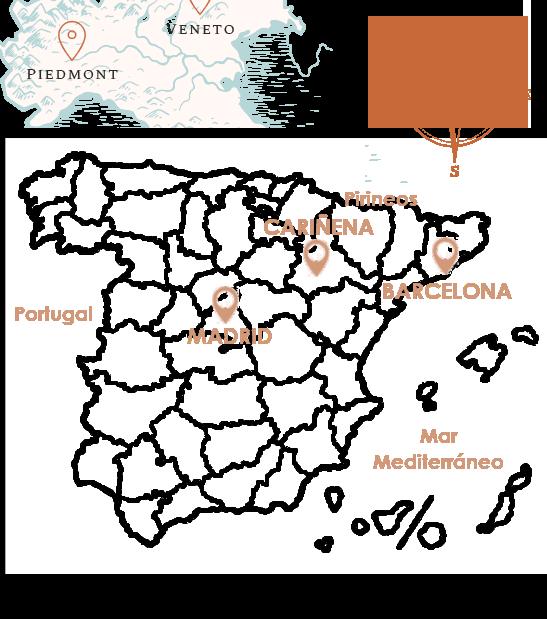 Mapa situación Cariñena